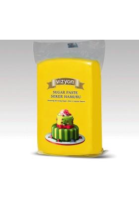 Vizyon Sarı Şeker Hamuru 1 kg