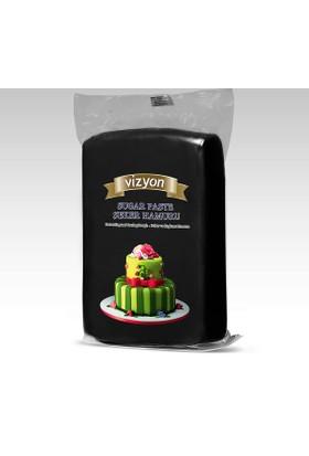 Vizyon Siyah Şeker Hamuru 1 kg