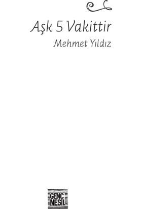 Aşk 5 Vakittir - Mehmet Yıldız