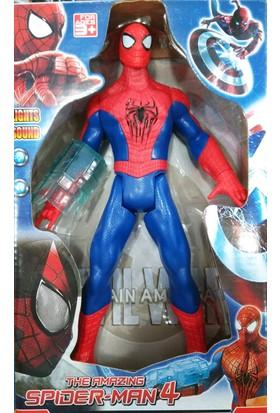 Aydın Oyuncak Konuşan Sesli Işıklı Örümcek Adam Spiderman + Tangram