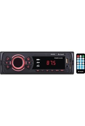 Kawai KW-619 Radyolu USB / SD Kart Girişli Oto MP3 Çalar