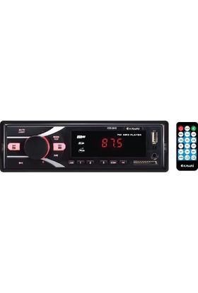 Kawai KW-845 Radyolu USB / SD Kart Girişli Oto MP3 Çalar