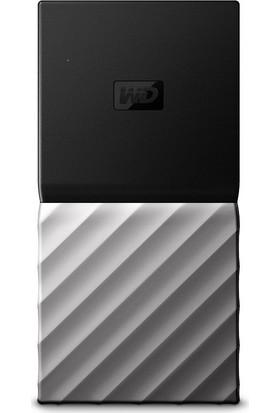 WD My Passport SSD 512GB USB 3.1 Gen 2 Gümüş Taşınabilir SSD (WDBKVX5120PSL-WESN)