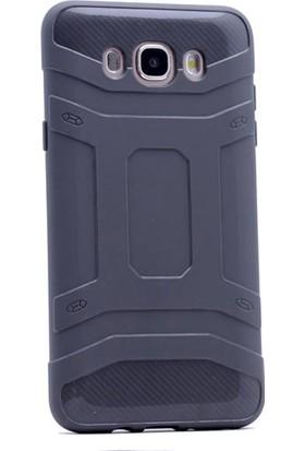 Gpack Samsung Galaxy J1 Mini Kılıf Stress Silikon Case Gri