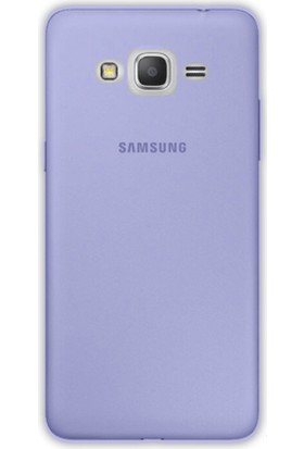 Gpack Samsung Galaxy J1 Mini Kılıf 0.2 mm Silikon Arka Kapak Case Mavi