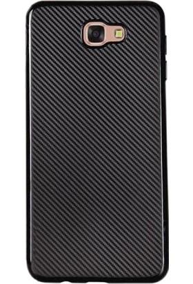 Gpack Samsung Galaxy J5 Prime Kılıf Carbon Fiber Case Siyah