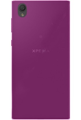 Gpack Sony Xperia L1 Kılıf 0.2 mm Silikon Arka Kapak Case Pembe