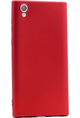 Gpack Sony Xperia L1 Kılıf Premier Yumuşak Silikon Case Kırmızı