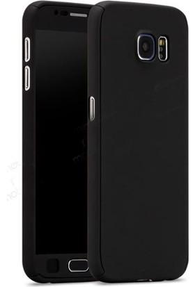 Gpack Samsung Galaxy J5 Prime Kılıf 360 Derece Full Kaplayan Rubber Siyah
