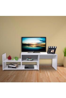 Remaks Remaks Tv Sehpası Beyaz