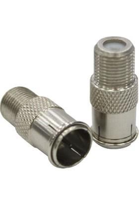 Cablemaster F Quick Konnektör 10 Adet