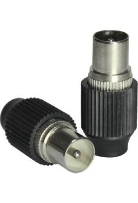 Cablemaster 75 Ohm Erkek Anten Fişi 10 Adet