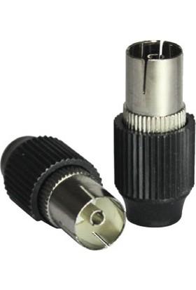 Cablemaster 75 Ohm Dişi Anten Fişi 10 Adet