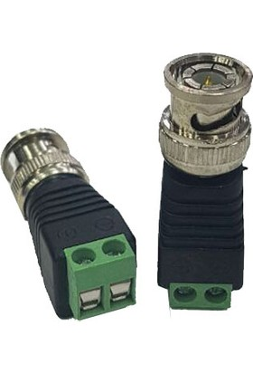 Cablemaster Bnc Erkek Balun Konnektör 10 Adet