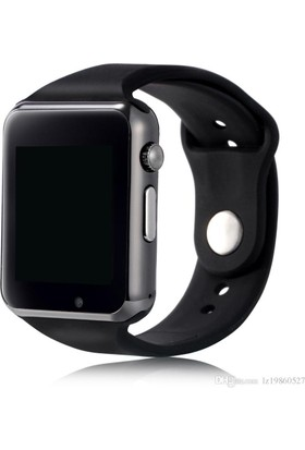 Smartwatch Black Akıllı Saat Siyah