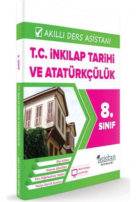 Teog T.C. İnkılap Tarihi Ve Atatürkçülük Akıllı Ders Asistanı 8. Sınıf