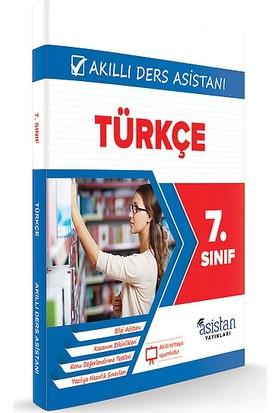 Asistan Yayınları Türkçe Akıllı Ders Asistanı 7. Sınıf