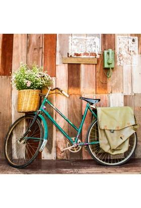Yorkadesign Plaj Havlusu Bisiklet Desenli