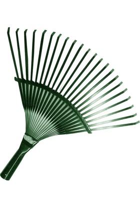 Zir-Cim Çim Tırmığı Ayarsız Düz Metal Yeşil Boyalı