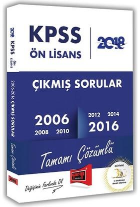 2018 KPSS Ön Lisans Tamamı Çözümlü 2006 2016 Çıkmış Soruları