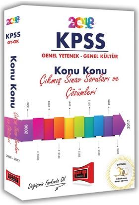2018 KPSS Genel Yetenek Genel Kültür Konu Konu Çıkmış Sınav Soruları Ve Çözümleri