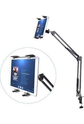 Appa 95 Cm Universal Uzun Mandallı Masa Tablet Tutucu Srf-602 Teleskopik