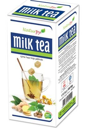 Naturpy Milk Tea 250 Gr. Bitkisel Çay Yeni Kutusunda