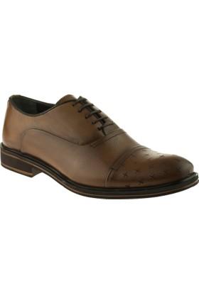 Alisolmaz 1219 Bağlı Klasik Taba Erkek Ayakkabı