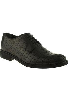 Alisolmaz 1232 Bağlı Klasik Siyah Erkek Ayakkabı