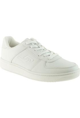 Jump 16312 Casual Bağlı Beyaz Kadın Spor Ayakkabı