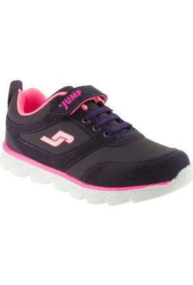 Jump 16778 Tek Cırt Mor Çocuk Spor Ayakkabı