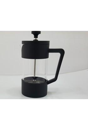 Unev French Press Bitki Çayı Kahve Demleme Demliği 600 ml