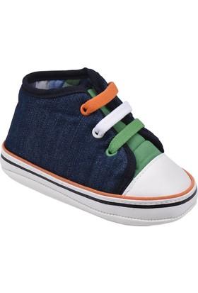 Kinetix A1291742 Lacivert Turuncu Yeşil Erkek Çocuk Sneaker Ayakkabı