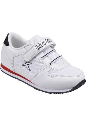 Kinetix A1290753 Beyaz Lacivert Kırmızı Erkek Çocuk Sneaker Ayakkabı