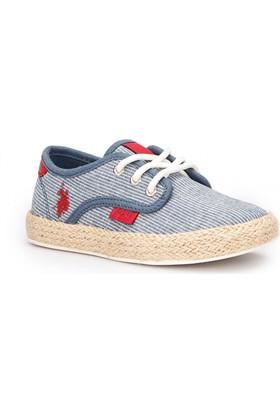 U.S. Polo Assn. Omega Lacivert Erkek Çocuk Sneaker Ayakkabı
