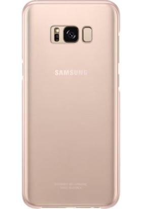 Samsung Galaxy S8 Plus Şeffaf Kılıf Pembe - EF-QG955CPEGWW