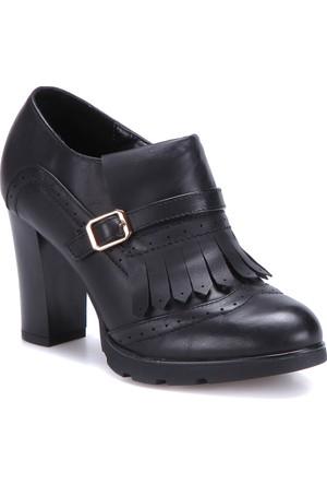 Polaris 62.307704Fz Siyah Kadın Ayakkabı