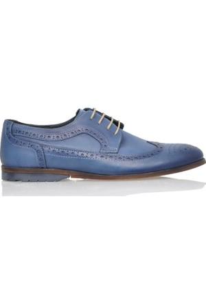UK Polo Club P75025 Erkek Klasik Ayakkabı - Mavi