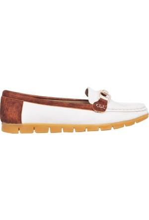 UK Polo Club P64921 Kadın Günlük Ayakkabı - Beyaz
