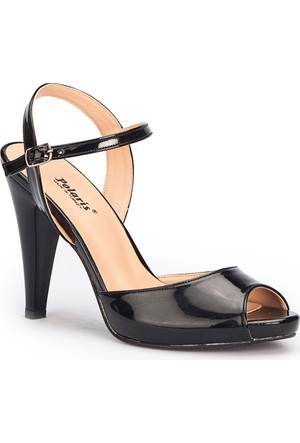 Polaris 71.309827.Z Siyah Kadın Sandalet