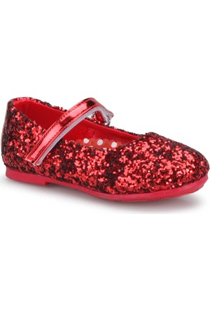 Mickey Mouse 90594T Kırmızı Kız Çocuk Babet