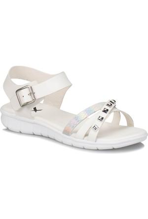 Kinetix Hazel Beyaz Kadın Sandalet