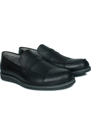 Kalahari 737004 041 014 Erkek Siyah Ayakkabı