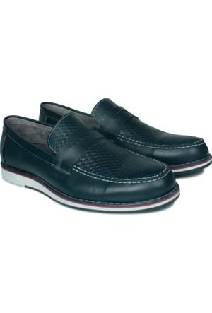 Kalahari 737004 041 424 Erkek Lacivert Ayakkabı