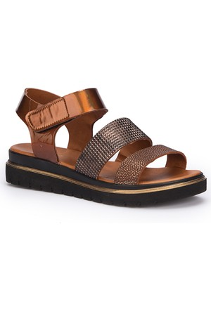 Polaris 71.310122.Z Bronz Kadın Sandalet