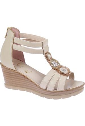 Beety Bty 3022 Bej Kadın Ayakkabı