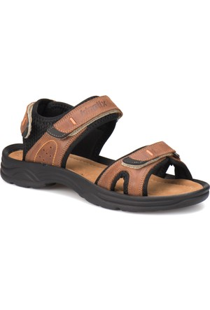 Kinetix Napole G Taba Erkek Deri Sandalet