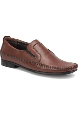 Flogart 120 M 1366 Kahverengi Erkek Deri Klasik Ayakkabı