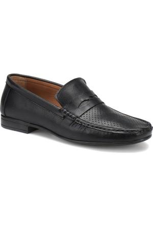 Flexall Zum-1 M 1618 Siyah Erkek Klasik Ayakkabı