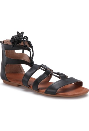 Carmens Art08 Siyah Kadın Sandalet